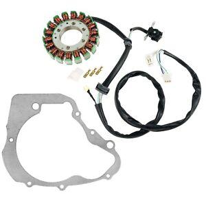Stator and Gasket fits Yamaha Virago 250 XV250 1995 1996 1997 1998 1999 - 2007