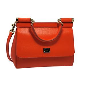 Gorgeous, Lightly Loved Dolce & Gabbana Orange Sicily tote Shoulder-bag