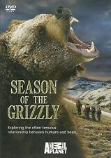 SEASON OF THE GRIZZLY ANIMAL PLANET DVD RELATIONSHIP BETWEEN HUMANS & BEARS, NEW