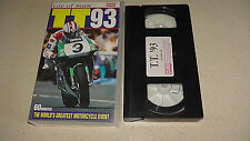 isle of man tt 93 1993 video vhs 60 minutes         FAST DISPATCH
