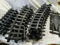New Bright Holiday Express 386 Christmas Electric Train Set Replacement Tracks