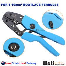 1 - 10 mm² Ratchet Ferrule Bootlace Crimper Crimping Tool Crimp Pliers