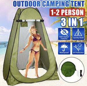 HIGH QUALITY 2021 SHOWER TENT PORTABLE CAMPING OUTDOOR PRIVACY DRESSING CHANGE