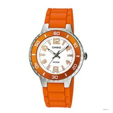 Casio LTP-1331-4A New Original Orange Band Analog Womens Watch LTP-1331 50M