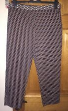 Ladies Patterned Trousers, Topshop, Size 12