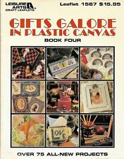 Plastic Canvas Patterns Gifts Galore Book 4 Softcover 96 pgs.