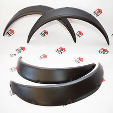"JDM Fender Flares UNIVERSAL Wheel arch SET 2.3"" wide 2 pieces"