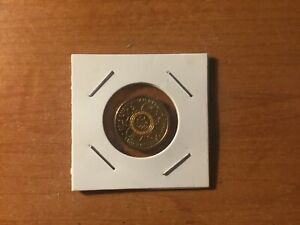 1 x 2016 Orange Olympic Game Coin. Uncirculated.