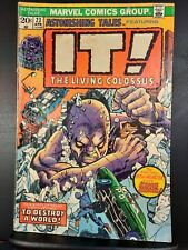 Astonishing Tales #23 2nd Appearance Fin Fang Foom! MCU? MVS Intact 1974 Marvel