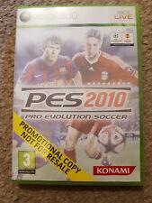 Microsoft Xbox 360 Game PES 2010 Pro Evolution Soccer Promo Version Sticker Seal