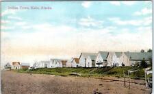 KAKE, Alaska AK   INDIAN TOWN  Tlinget Village  c1910s Native American  Postcard