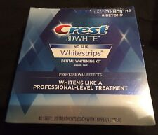 Crest 3D Whitestrips Professional Effects sealed new 40 strips 2020 exp $59.99