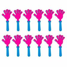12-Pack Hand Clappers Noisemakers Party Favors Prizes for Kids Birthday Events