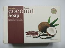 100g.Coconut Milk & Jasmine Rice.Extra virgin Coconut Soap.inature.Made in Thai