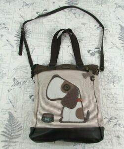 NEW Chala Tofy Dog Crossbody Sweet Messenger Bag X Large Vegan Leather Shoulder