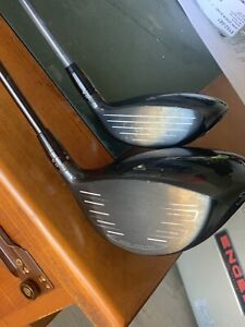 Left handed Titleist 917 driver and 3 wood