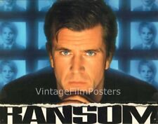 RANSOM complete original 1996 Lobby Card Set of 6 cards, Mel GIBSON, Renee RUSSO