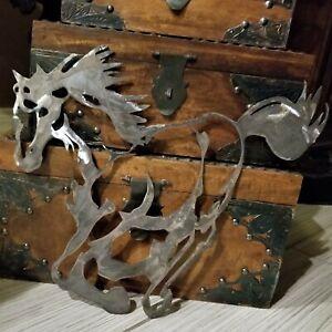 Laser Cut Metal MUSTANG Horse Wall Art Decor