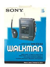 Sony WM-EX34 / Walkman Cassette Player Vintage Baladeur Lecteur K7 Tape