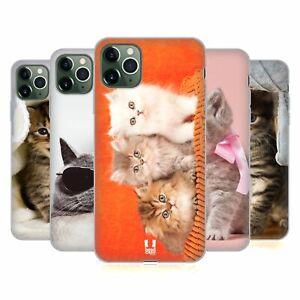 HEAD CASE DESIGNS CATS SOFT GEL CASE & WALLPAPER FOR APPLE iPHONE PHONES