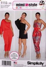 JUMPSUIT Two lengths Mimi G Simplicity Pattern 1115 NEW Misses 6-14