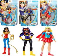 DC Super Hero Girls 6 Inch Doll Ages 6+ Toy Supergirl Wonder Woman Batgirl
