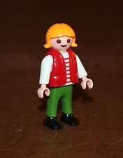 Playmobil country fillette gilet rouge 3120 4407