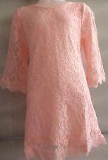 New Girls Pink Lace Dress Age 2-3Years UK Seller-Girls-Kids Clothing