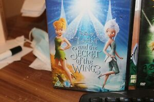 Tinker Bell And The secret of the wings(DVD, 2013) used