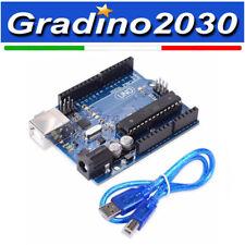 Arduino UNO Rev3 R3 con Atmega328p-pu (Compatibile) + Cavo USB