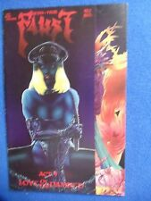 ~~  FAUST ACT  9 ~NUDITY & GORE ~ LOVE OF THE DAMNED ~ 1ST PRINT! ~ TIM VIGIL ~~