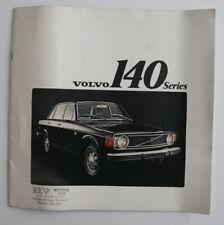 VOLVO 140 Series 1973 dealer brochure - English - Canada - HS3004000418