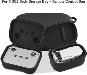 Hard Shell Nylon Carrying Case Storage Travel Bag for DJI Mavic Mini 2 Drone FS