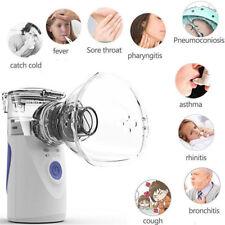 Portable Ultrasonic Nebulizer Handheld Nebuliser Humidifier Respirator Adult/Kid