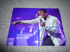 JERMAINE JACKSON signed Autogramm 20x25cm In Person JACKSON FIVE Michael Jackson