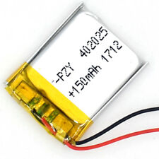 3.7V 150 mAh Lithium  Li-polymer Rechargeable  Li-Po ion 042025 for bluetoot mp3