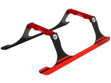 Rakon CNC Landing Gear Set (Black-Red) - Blade 120S