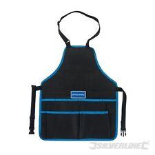 Work Wear Grembiule uomini strumento tasche di stoccaggio COMPLETAMENTE REGOLABILE Silverline (282513)