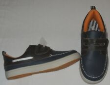 Shoes boys size 12M EUR 30 new man made materials navy blue brown