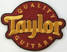 Taylor Guitars Patch, Instruments, Music, Iron on