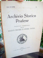 26v - ARCHIVIO STORICO PRATESE STORIA DI PRATO