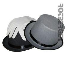 Zylinderhut Kinder Zylinder Filz Hut mit/ohne Handschuhe  Fasching Karneval