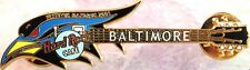 Hard Rock Cafe BALTIMORE 2001 Raven's Head GUITAR PIN Festivus Maximus HRC #727