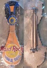 Hard Rock Cafe SHARM EL SHEIKH 1999 Egyptian Guitar PIN - HRC #30957 SILVER Mesh