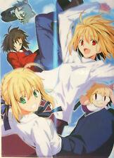 Carnival Phantasm clear file folder Tsukihime Fate stay night saber Type moon