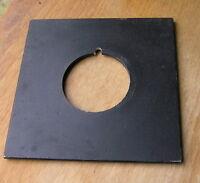 "Calumet 4x4"" metal  lens board panel  with copal 1( 42mm) hole 105822"