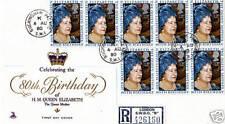 4 de agosto de 1980 reina madre 80th Cumpleaños FD Cubierta Palacio de Buckingham Tribunal Cds