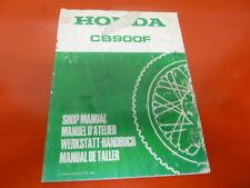 Honda CB 900 FA suplement Original Genuine Parts List Book werkstatt handbuch
