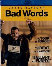 NEW BLU-RAY //  BAD WORDS // Jason Bateman, Kathryn Hahn, Rohan Chand, Allison J