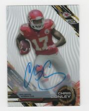 Chris Conley AUTOGRAPH RC Kansas City Chiefs 2015 Topps High Tek AUTO Football